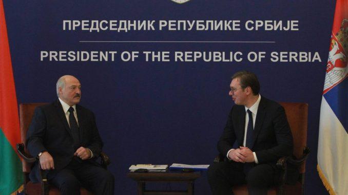 Vučić: Poseta Lukašenka unaprediće ekonomske odnose, politički su već odlični 1