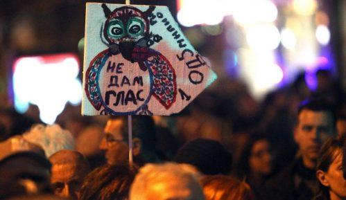 "U subotu 56. protest ""1 od 5miliona"" u Beogradu 12"