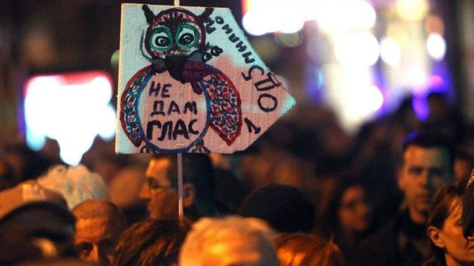"U subotu 56. protest ""1 od 5miliona"" u Beogradu 3"