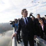 Vučić na otvaranju nove deonice: Ovaj most i put su fatamorgana 5