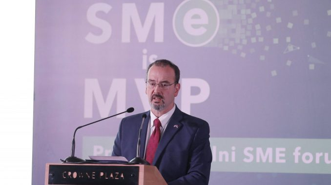 Godfri: Srbiji potrebna mala i srednja preduzeća za pokretanje privrednog rasta 2
