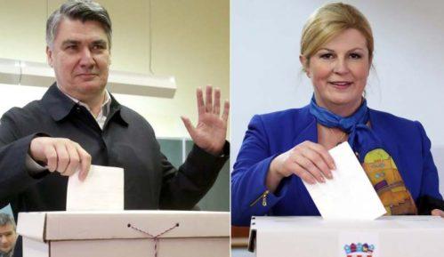Milanović i Grabar Kitarović u drugom krugu za izbor predsednika Hrvatske 11