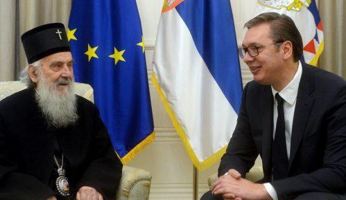 Vučić i patrijarh Irinej: Više rada i više jedinstva će uvek davati značajno veće rezultate 2