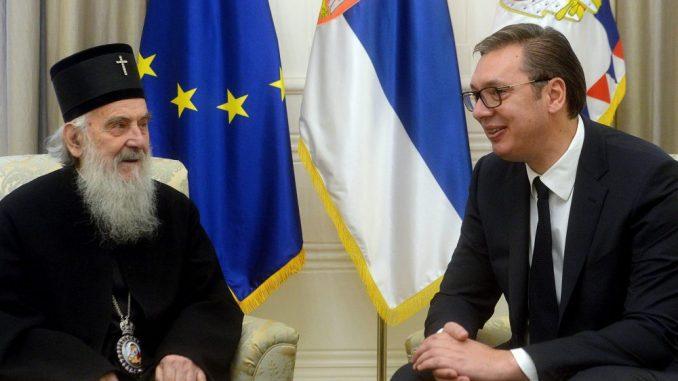 Vučić i patrijarh Irinej: Više rada i više jedinstva će uvek davati značajno veće rezultate 4