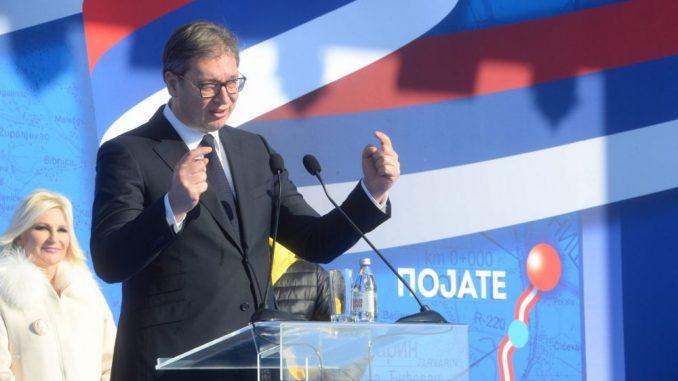 Vučić: Za dve godine od Beograda do Kruševca za sat i po 1
