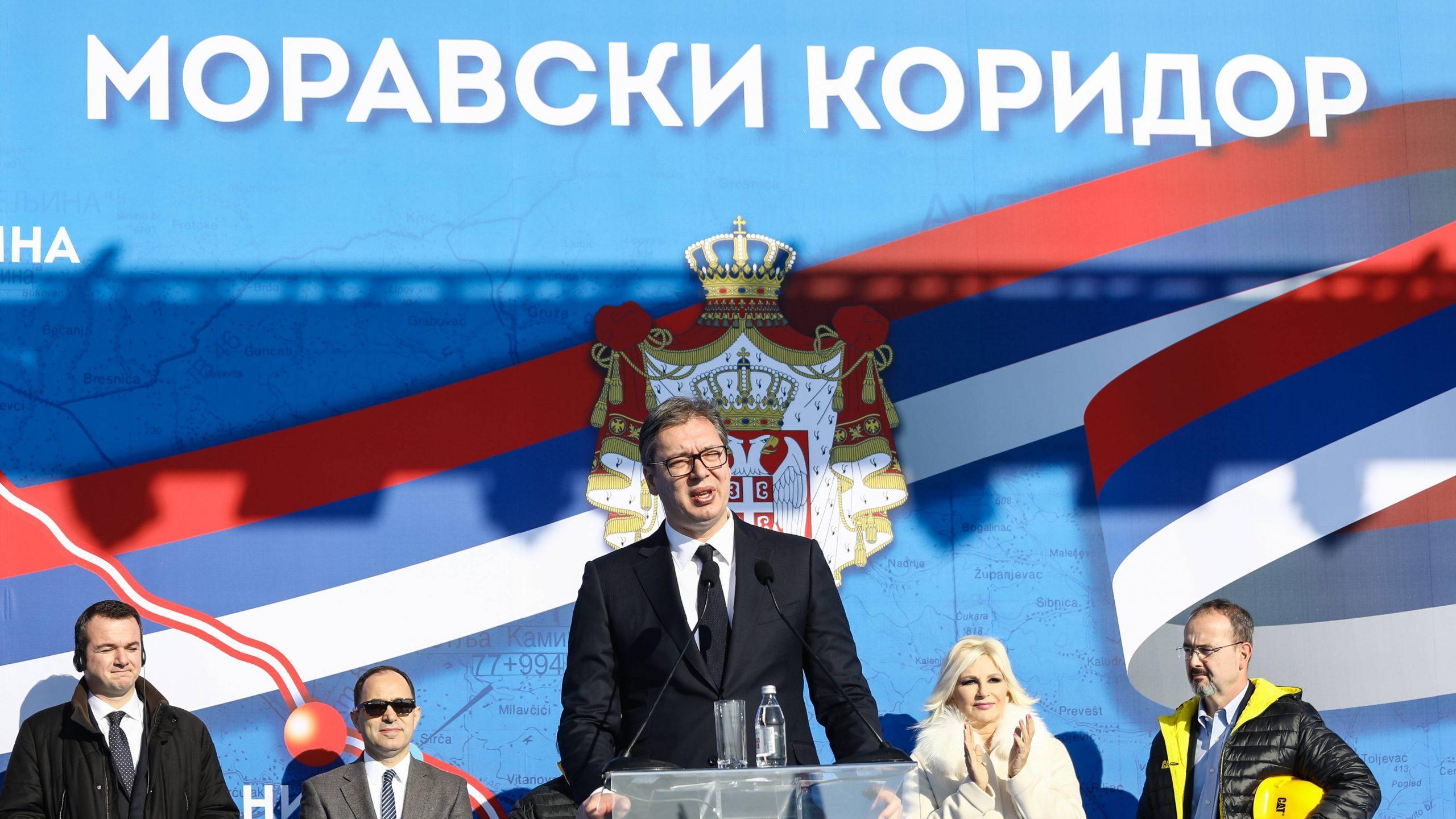 Vučić: Za dve godine od Beograda do Kruševca za sat i po 5