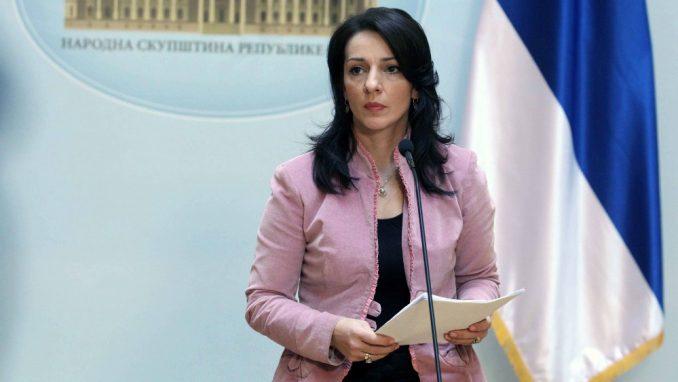 Marinika Tepić pita po kojem osnovu Vučićeva savetnica najavljuje zatvaranje gradova 1