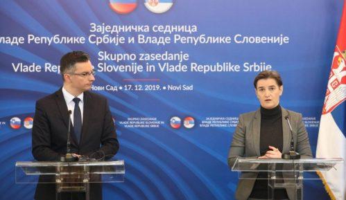 Zajednička sednica vlada Slovenije i Srbije održana u Novom Sadu 1
