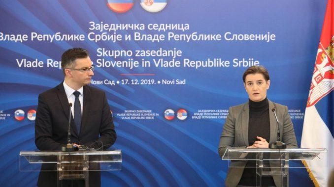 Zajednička sednica vlada Slovenije i Srbije održana u Novom Sadu 2