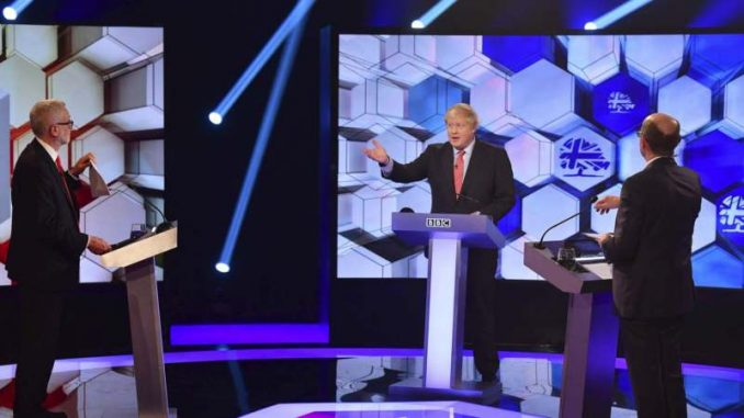 Džonson i Korbin u poslednjoj TV debati pred izbore 1