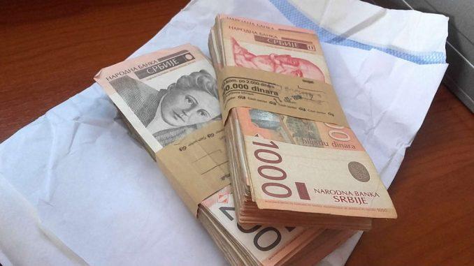 Prosečna neto zarada u Srbiji u avgustu 58.513 dinara 2