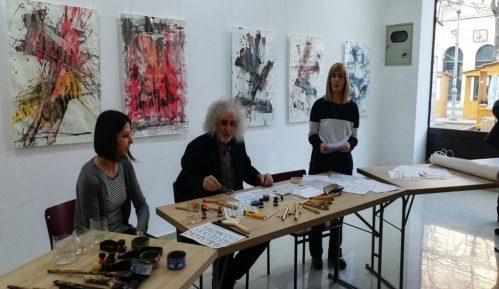 Izložba kaligrafskih radova u požarevačkoj Galeriji savremene umetnosti 4