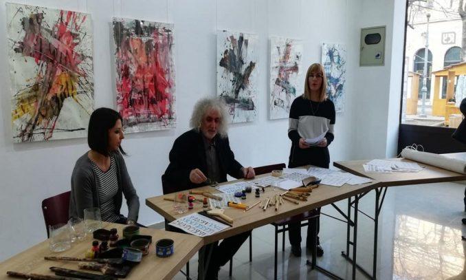 Izložba kaligrafskih radova u požarevačkoj Galeriji savremene umetnosti 2