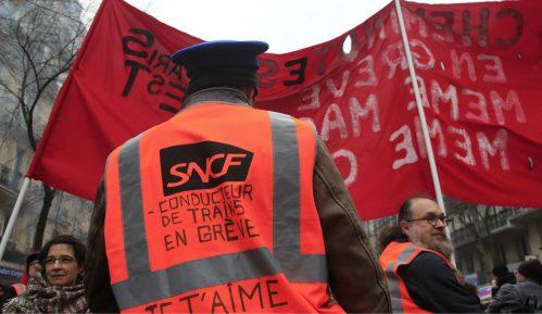 U Francuskoj danas 25. dan štrajka železnice i protesta 14