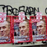 Omladina DS: Skinuto stotine plakata u Novom Sadu 13