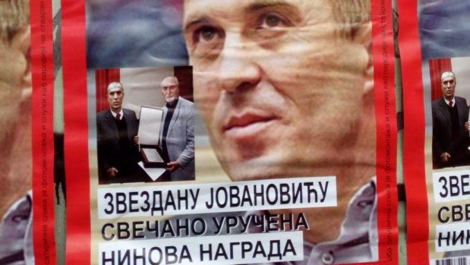 Savez za Srbiju: Plakate lepili aktivisti SNS 3