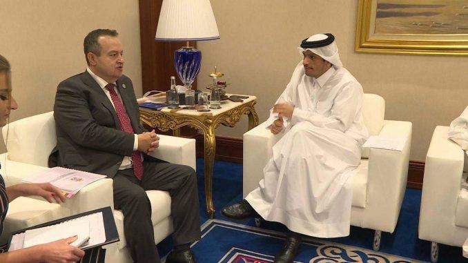 Dačić u Dohi sa premijerom Katara o ekonomskoj saradnji 2