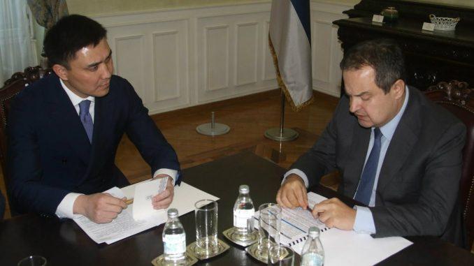 Dačić primio novog kazahstanskog ambasadora 3