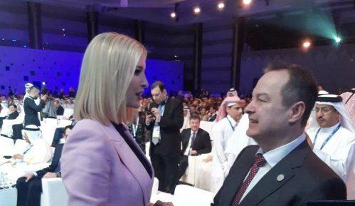 Dačić ponovo sa Ivankom Tramp 1