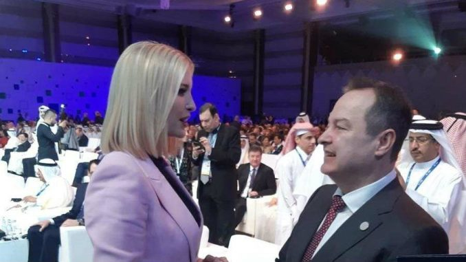 Dačić ponovo sa Ivankom Tramp 3