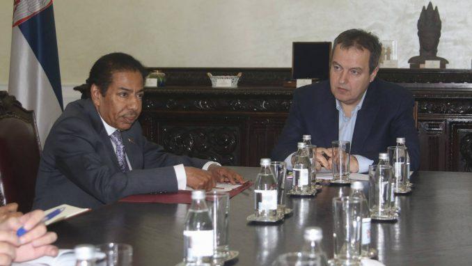 Dačić razgovarao sa ambasadorom Katara 1