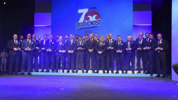 Košarkaški klub Budućnost obeležio 70 godina postojanja 1