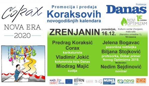 Promocija Koraksovih kalendara 16. decembra u Zrenjaninu 15