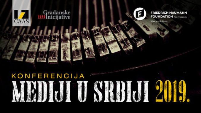 """Konferencija """"Mediji u Srbiji 2019."""" 14. decembra u Beogradu 2"""