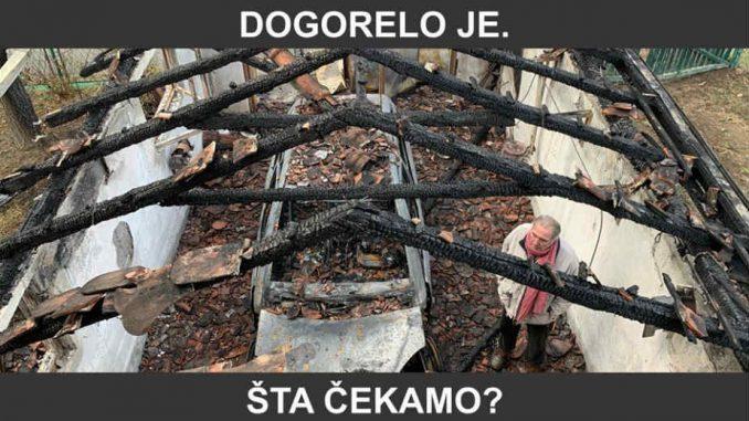 Protest na godišnjicu paljenja kuće novinara Milana Jovanovića 4