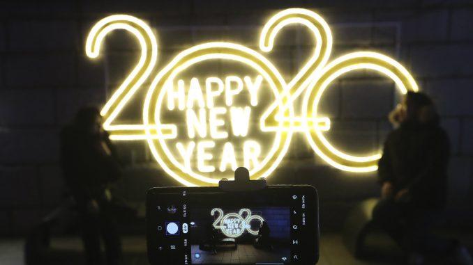 Novu godinu dočekali na Novom Zelandu, Samoi, Južnoj Koreji 1