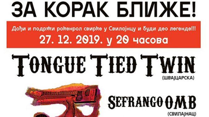 Švajcarski Tongue Tied Twin nastupa u Svilajncu 4
