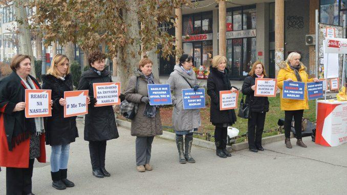 Užički skup podrške Mariji Lukić 1