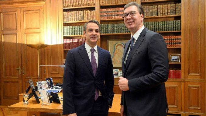 Vučić i Micotakis: Deklaracija o strateškom partnerstvu unapredjuje izuzetne odnose Srbije i Grčke 8