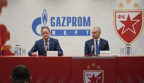 """""""Gasprom njeft"""" generalni sponzor Zvezde"""" do 2022. 15"""