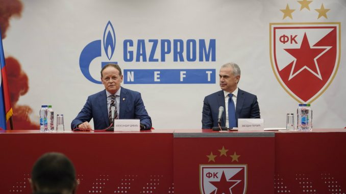 """""""Gasprom njeft"""" generalni sponzor Zvezde"""" do 2022. 4"""