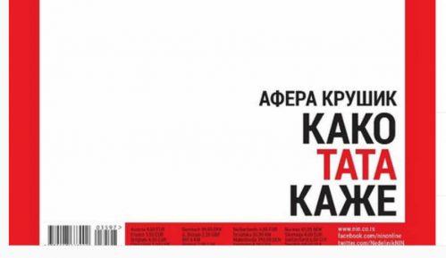 Nedeljnik NIN bez fotografije na naslovnoj strani, ali i dalje o aferi Krušik 12