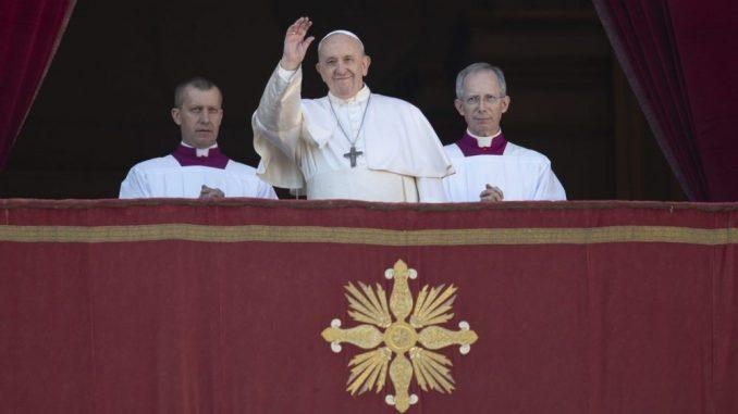Papa Franja apelovao da se garantuje bezbednost na Bliskom istoku, posebno u Siriji 1