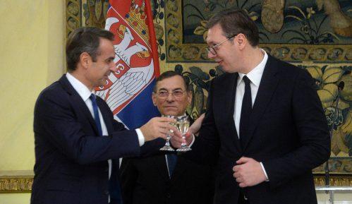 Vučić sa Micotakisom, kopredsedavaće Visokim savetom za saradnju dve države 4