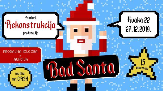 """Izložba """"Bad Santa"""" u """"Kvaki 22"""" 2"""
