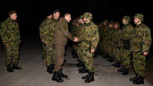 Ministar Vulin u novogodišnjoj noći sa pripadnicima 250. raketne brigade 2