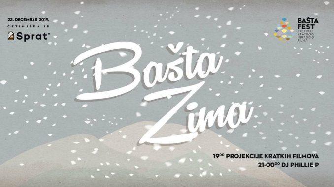 Zimsko izdanje Bašta Festa u Cetinjskoj 3