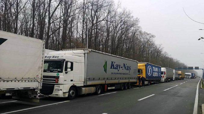 AMSS: Kamioni četiri sata na Batrovcima 1