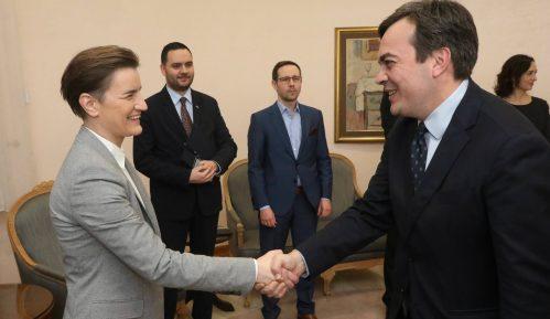Brnabić i ministar za evropske poslove Italije o saradnji i evrointegracijama 9