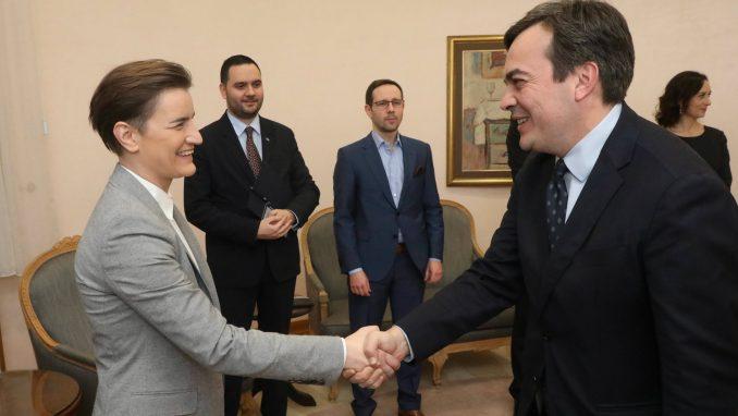Brnabić i ministar za evropske poslove Italije o saradnji i evrointegracijama 4