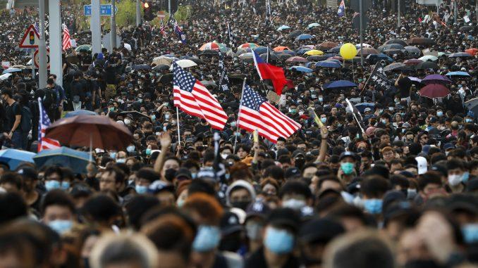 Novi protesti u Hongkongu posle kratkog zatišja 4