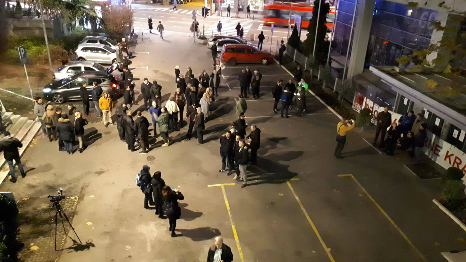 Jeremić po završetku blokade RTS: Cela akcija mogla da traje 15 minuta 3