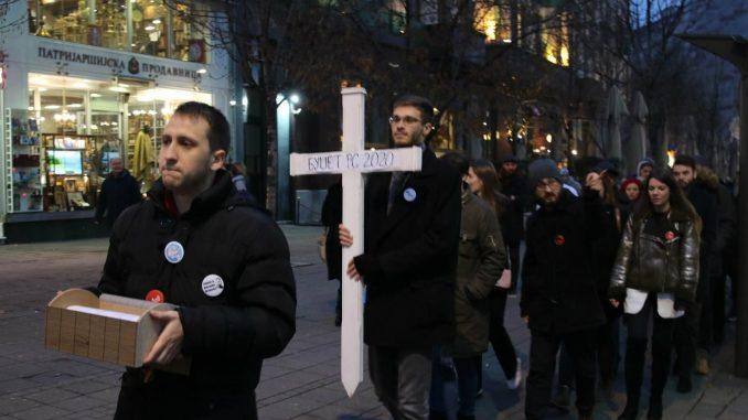 """Studenti Jedan od pet miliona """"sahranili"""" budžet Srbije za narednu godinu 3"""
