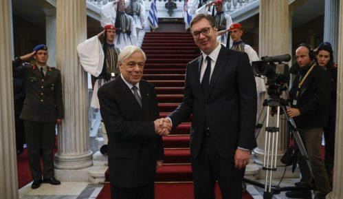 Vučić: Odnosi Srbije i Grčke dobri, zahvalan zbog podrške teritorijalnom suverenitetu 14