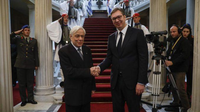 Vučić: Odnosi Srbije i Grčke dobri, zahvalan zbog podrške teritorijalnom suverenitetu 3