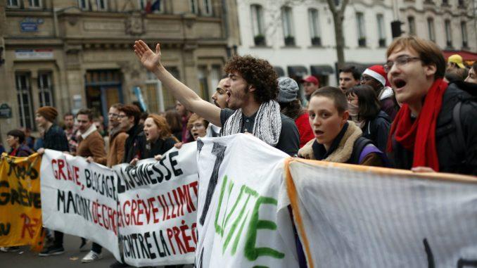 U Francuskoj danas 28. dan štrajka, sindikati nezadovoljni Makronovim govorom 2